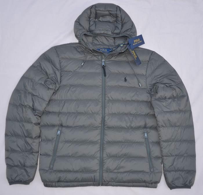 New Medium M POLO RALPH LAUREN Mens packable down jacket ...
