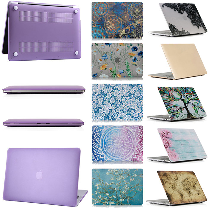 Case Star MacBook Pro 13 Inch Case 2019 2018 2017 2016 Release A1706 A1708 A1989 A2159 Ultra Thin Plastic Hard Sleeve Cover /& Keyboard Cover /& Anti-dust Brush-Forest