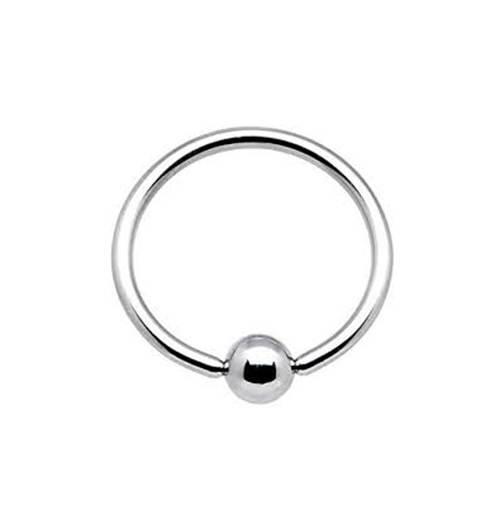 "1 Pair 2 Steel Captive Rings CBR 16g 7//16/"" Tragus Hoops"