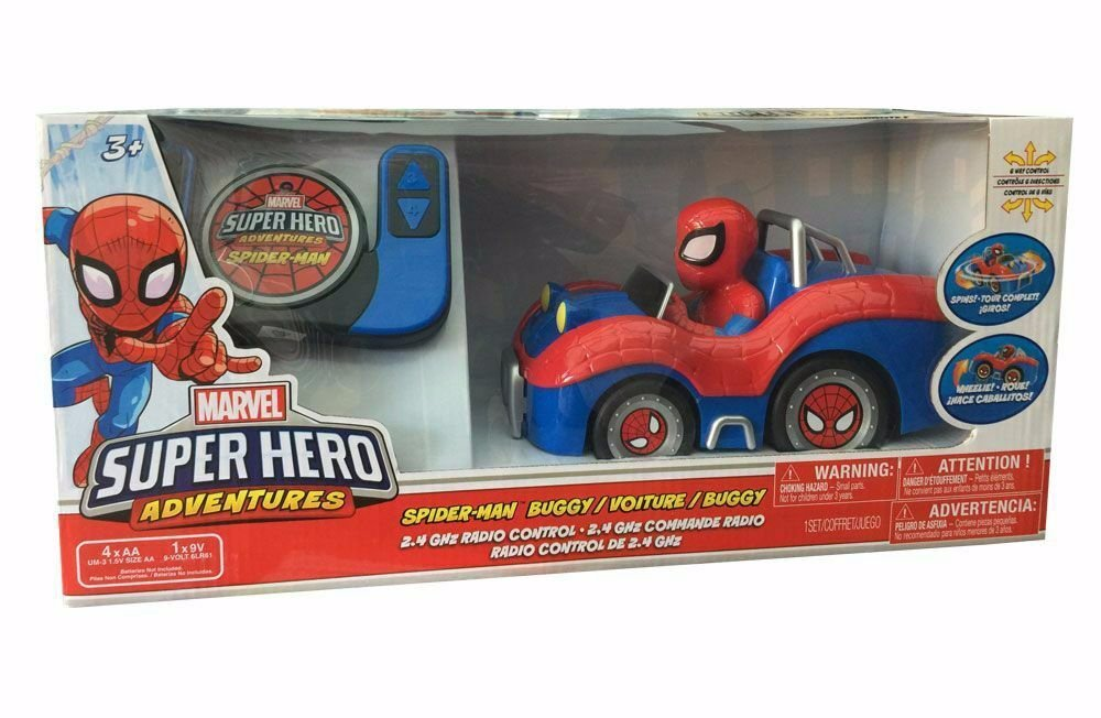 Spiderman Buggy Radio Control 2,4 Ghz