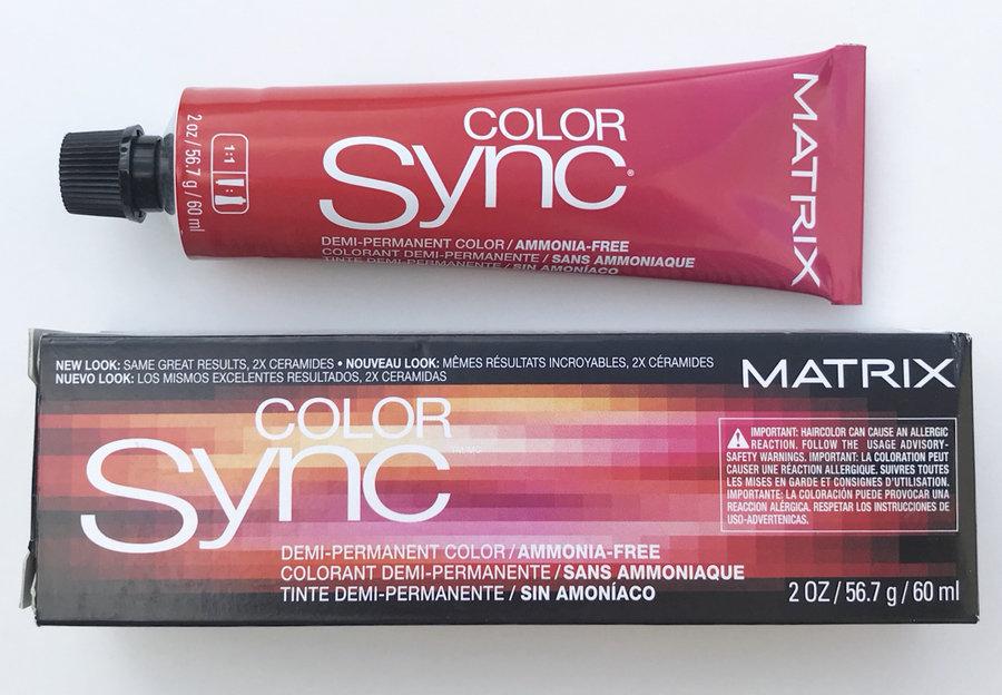 Matrix Color Sync Demi Permanent Hair Color Ammonia Free 2 Oz Pick