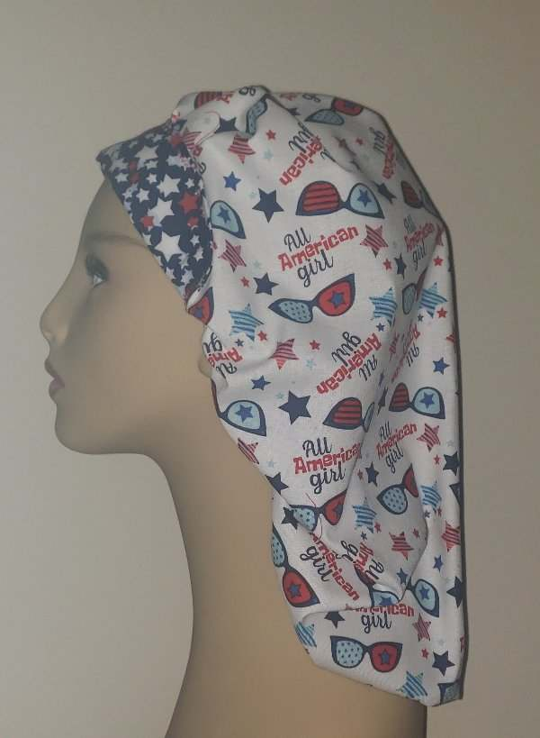 All American Girl Scrub Hats