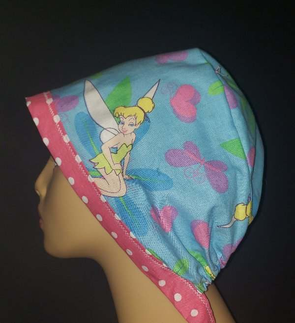 Tinkerbell Tie Back & Dots