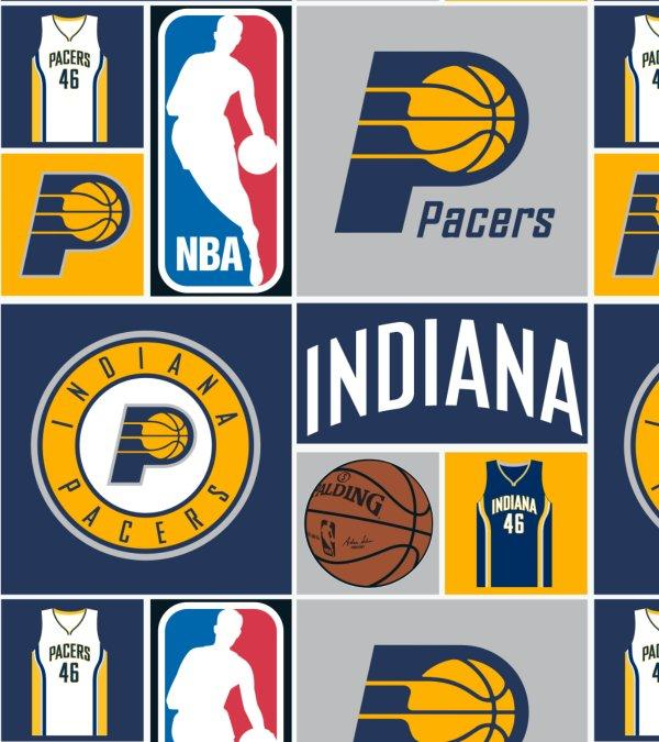 Indiana Pacers Ponytail or Bouffant Scrub Hats