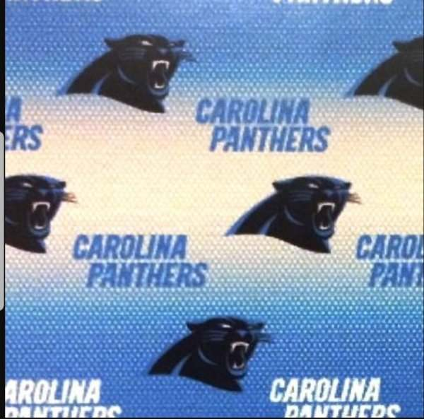 Carolina Panthers New Fabric Scrub Hats