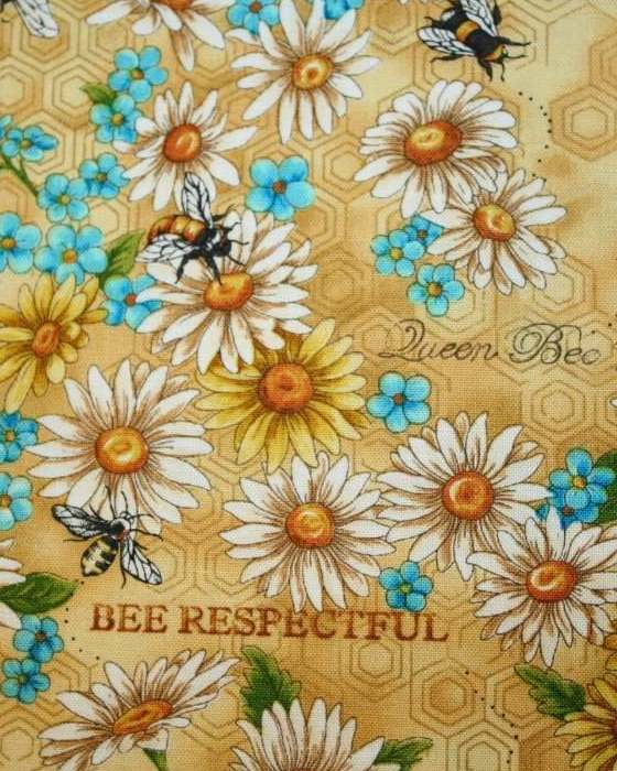 Bee Respectful Bouffant or Bouffant w/Tie Back Ribbon