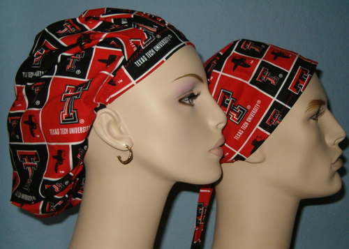 Texas Tech Scrub Hats