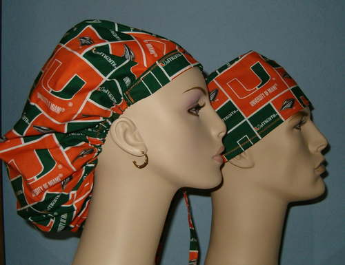 University Of Miami Multi Scrub Hats