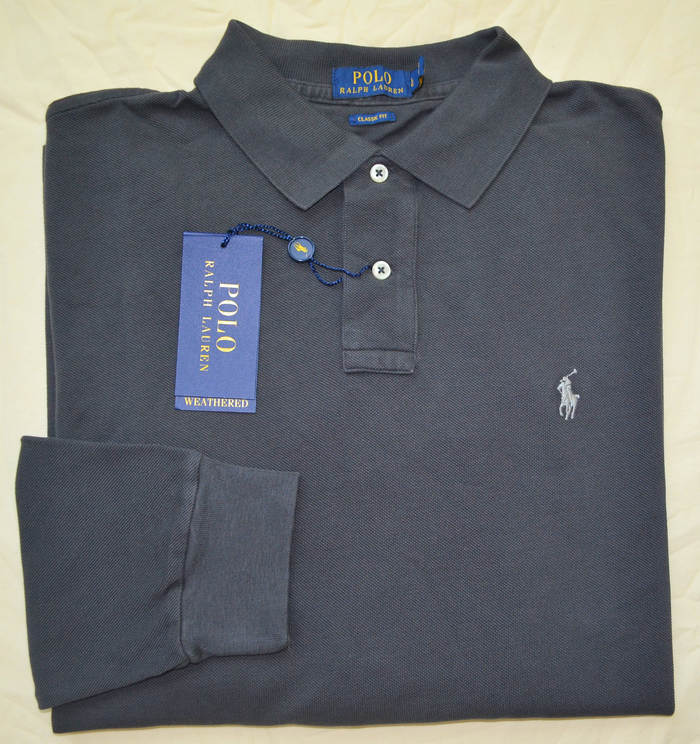 6299c347c Brand New with Tags! Polo Ralph Lauren Men s long sleeve mesh polo shirt
