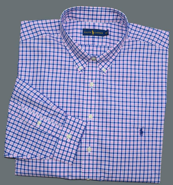 New 6xb 6xl big polo ralph lauren mens button down dress for 6xl button down shirts