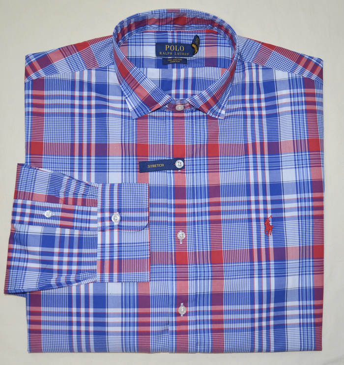 Brand New with Tags Ralph Lauren Polo Men Long Sleeve Button down Dress Shirt